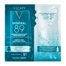 Vichy Mineral 89 Fortifying Instant Recovery Mask, Μάσκα Ενυδάτωσης 29gr
