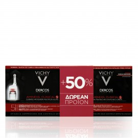 Vichy Promo Pack Dercos Aminexil Clinical 5 Homme (21τμχ + 12ΔΩΡΟ) 33amp x 6ml