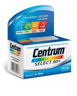 Centrum Select 50+ 30tabs NEW