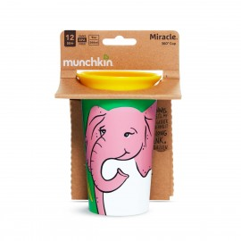 Munchkin Miracle Sippy Cup 12m+ Elephant 266ml, 1τμχ