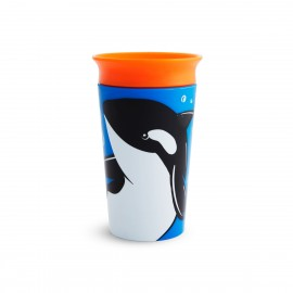 Munchkin Miracle Sippy Cup 12m+ Orca 266ml, 1τμχ