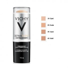 Vichy Dermablend Extra Cover No.25 Nude SPF30 Διορθωτικό Foundation Σε Μορφή Stick 9gr